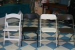 King Rental: Chair colors
