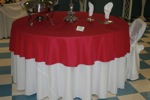 King Rental: Red table setu