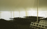 King Rental: Tent with chairs