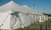 King Rental: Tent with sides and doors