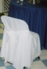 King Rental: White chair covers